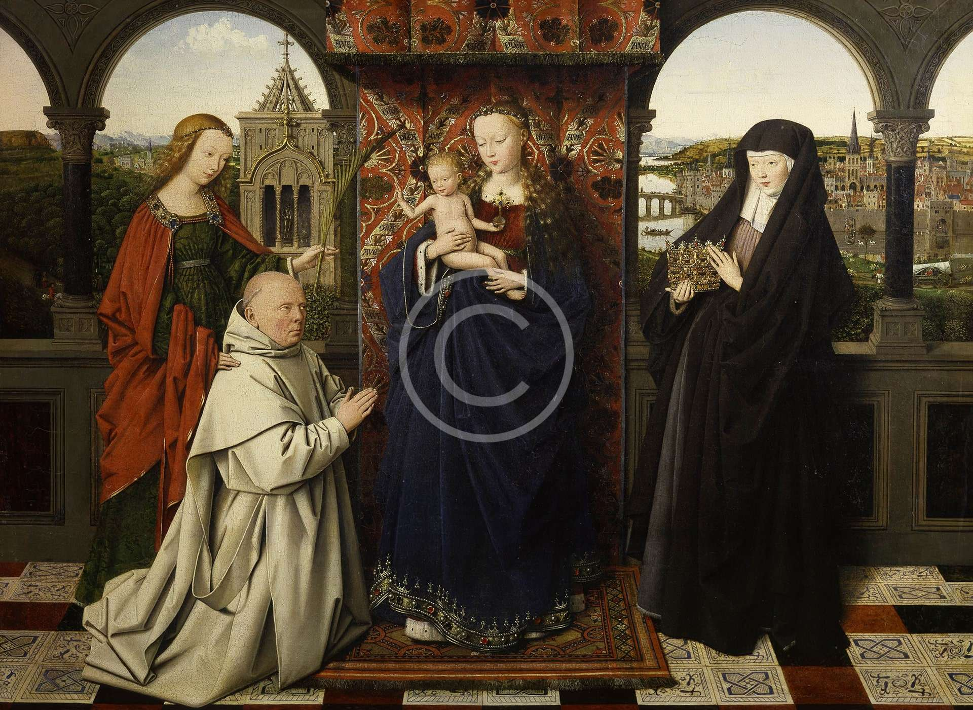 Virgin and Child with Saints